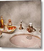 Plumber - First Thing In The Morning Metal Print by Mike Savad