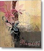 Plumeria - 64-115152167m4t3b Metal Print