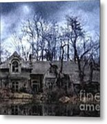 Plunkett Mansion Metal Print