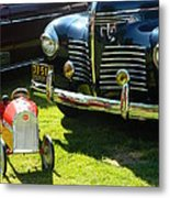 Plymouth And Baghera Metal Print