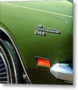 Plymouth Barracuda 340-s Emblem Metal Print