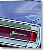 Plymouth Barracuda Taillight Emblem Metal Print
