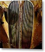 Plymouth Grill Metal Print