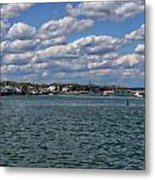 Plymouth Harbor Metal Print