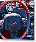 Plymouth Prowler Steering Wheel Metal Print