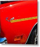 Plymouth Road Runner Closeup Metal Print