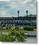 Pnc Park Pittsburgh Pirates Metal Print by Angelo Rolt