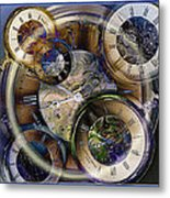 Pocketwatches Metal Print by Steve Ohlsen