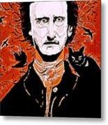 Poe Poe Metal Print by Tyler Schmeling