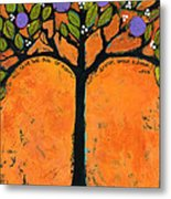 Poe Tree Art Metal Print