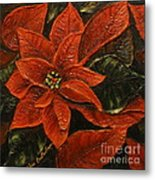 Poinsettia 2 Metal Print