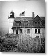 Point Betsie Lighthouse II Metal Print