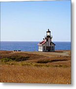 Point Cabrillo Light House Metal Print