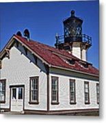 Point Cabrillo Light Station Metal Print