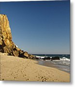 Point Dume At Zuma Beach Metal Print by Adam Romanowicz