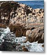 Point Lobos Coast 2 Metal Print