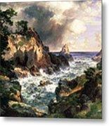 Point Lobos Monterey California Metal Print by Thomas Moran