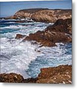 Point Lobos Surf Metal Print