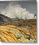 Point Lobos Wave Metal Print
