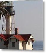 Point Loma California Lighthouse Metal Print
