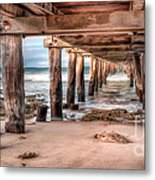 Point Lonsdale Jetty Metal Print by Shannon Rogers