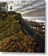 Point Montara Light House II Metal Print