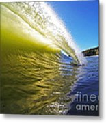 Point Of Contact Metal Print