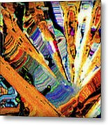 Point Of Interest Metal Print