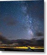 Point Pelee Milky Way Metal Print