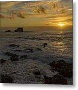 Point Piedras Blancas Sunset Metal Print