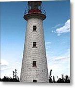 Point Prim Lighthouse 3 Metal Print