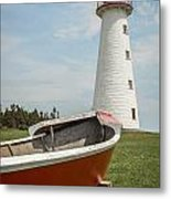 Point Prim Lighthouse Metal Print