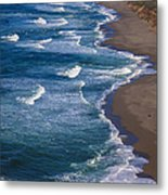 Point Reyes Long Beach Metal Print by Garry Gay