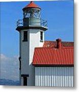 Point Robinson Light House Metal Print