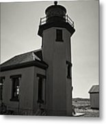 Point Robinson Lighthouse 2 Metal Print