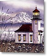 Point Robinson Lighthouse Metal Print