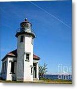 Point Robinson Lighthouse Metal Print