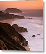 Point Sur Lighthouse Metal Print by Alexis Birkill