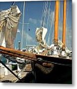 Point To The Stars  Metal Print