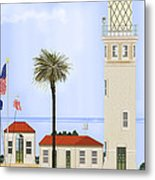 Point Vicente Lighthouse Metal Print by Anne Norskog