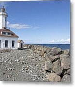 Point Wilson Lighthouse Metal Print