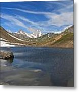 Pointe Rousse Lake - Vertical Composition Metal Print