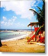 Poipu Beach Kauai Hawaii Metal Print