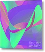 Poised Metal Print by ME Kozdron