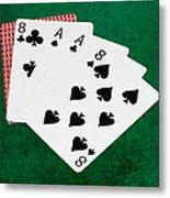 Poker Hands - Dead Man's Hand 2 V.2 Metal Print