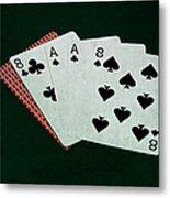 Poker Hands - Dead Man's Hand Metal Print