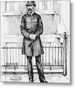 Policeman, C1885 Metal Print