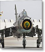 Polish Air Force Su-22 Fitter Metal Print