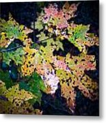 Polka Dot Autumn  Metal Print