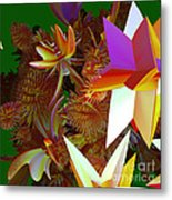 Pollination By Jammer Metal Print
